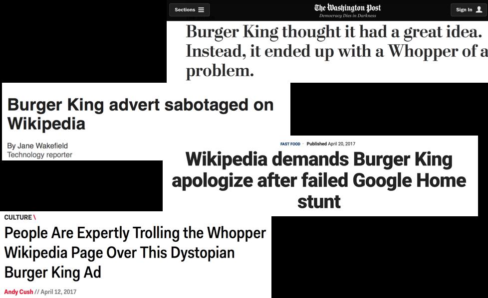 BK headlines