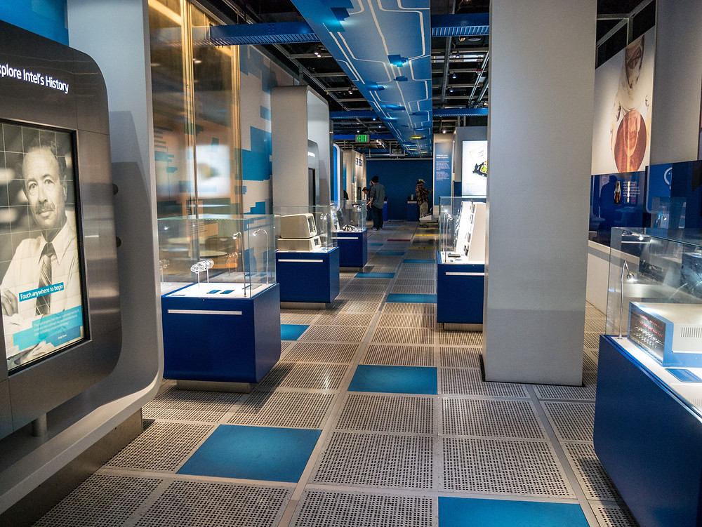 Intel Museum in Santa Clara, CA