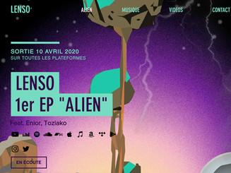 LENSO - ALIEN EP
