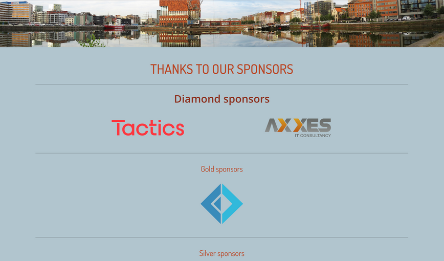 CONF19 sponsors