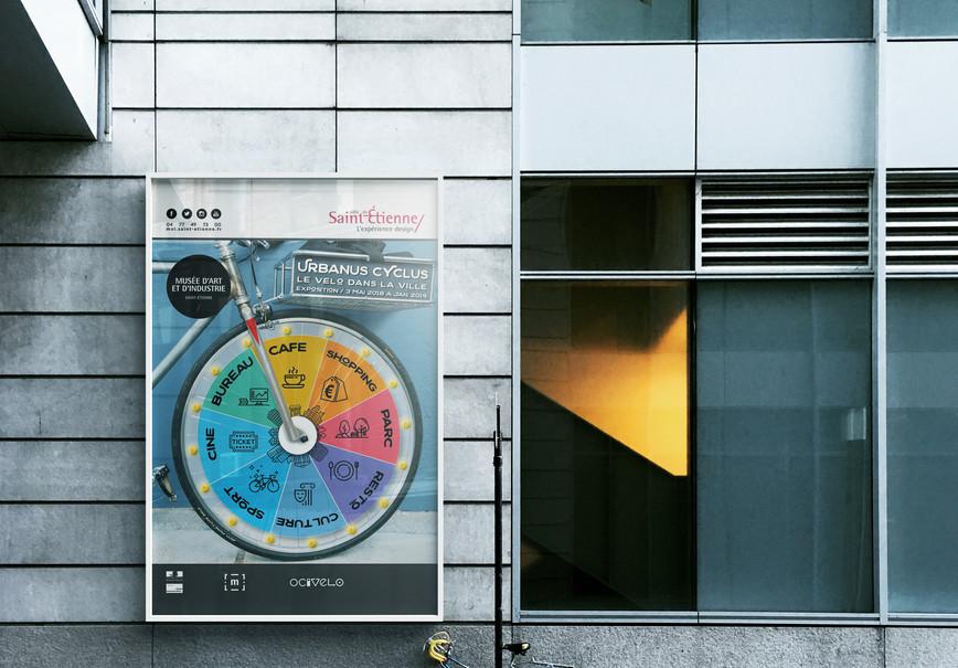 Urbanus Cyclus affiche murale