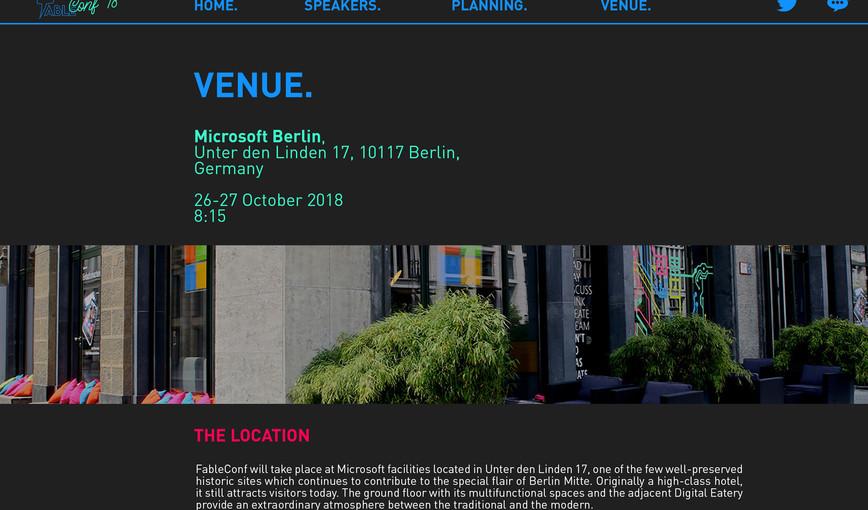 CONF18 venue