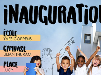 INAUGURATION ÉCOLE