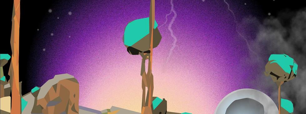 Alien EP cover @Pierre Nkwane