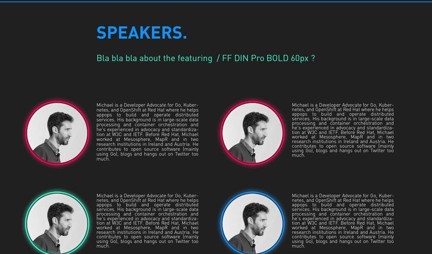 CONF18 speakers