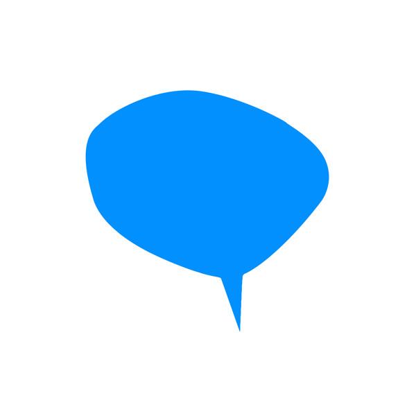 fond logo bulle