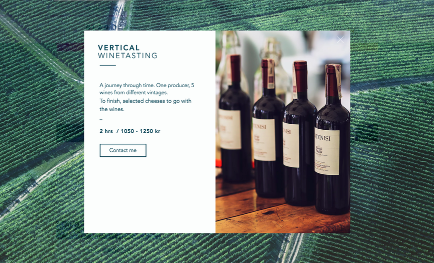 Vertical winetasting