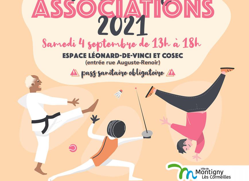 Affiche Fête des associations 2021