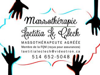 MASSOTHÉRAPIE LLC