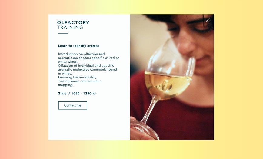 Olfactory training