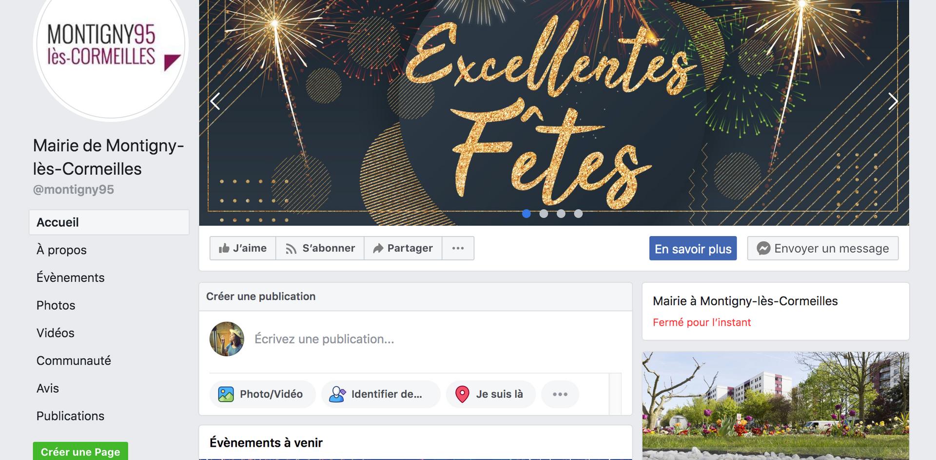 Bannière web fêtes facebook