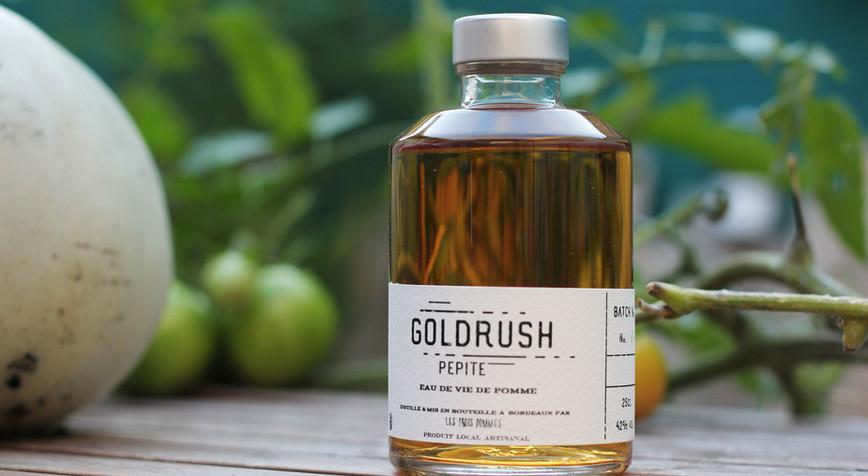 Bouteille Goldrush Pepite
