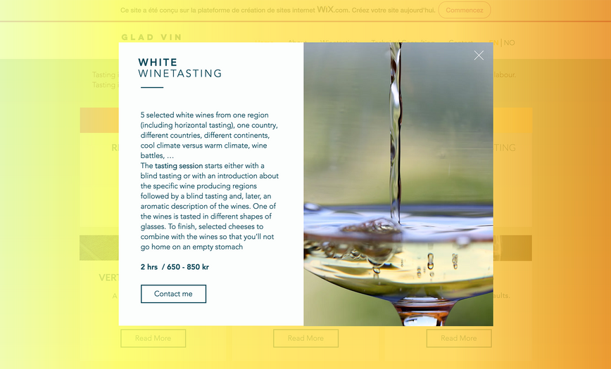 white winetasting