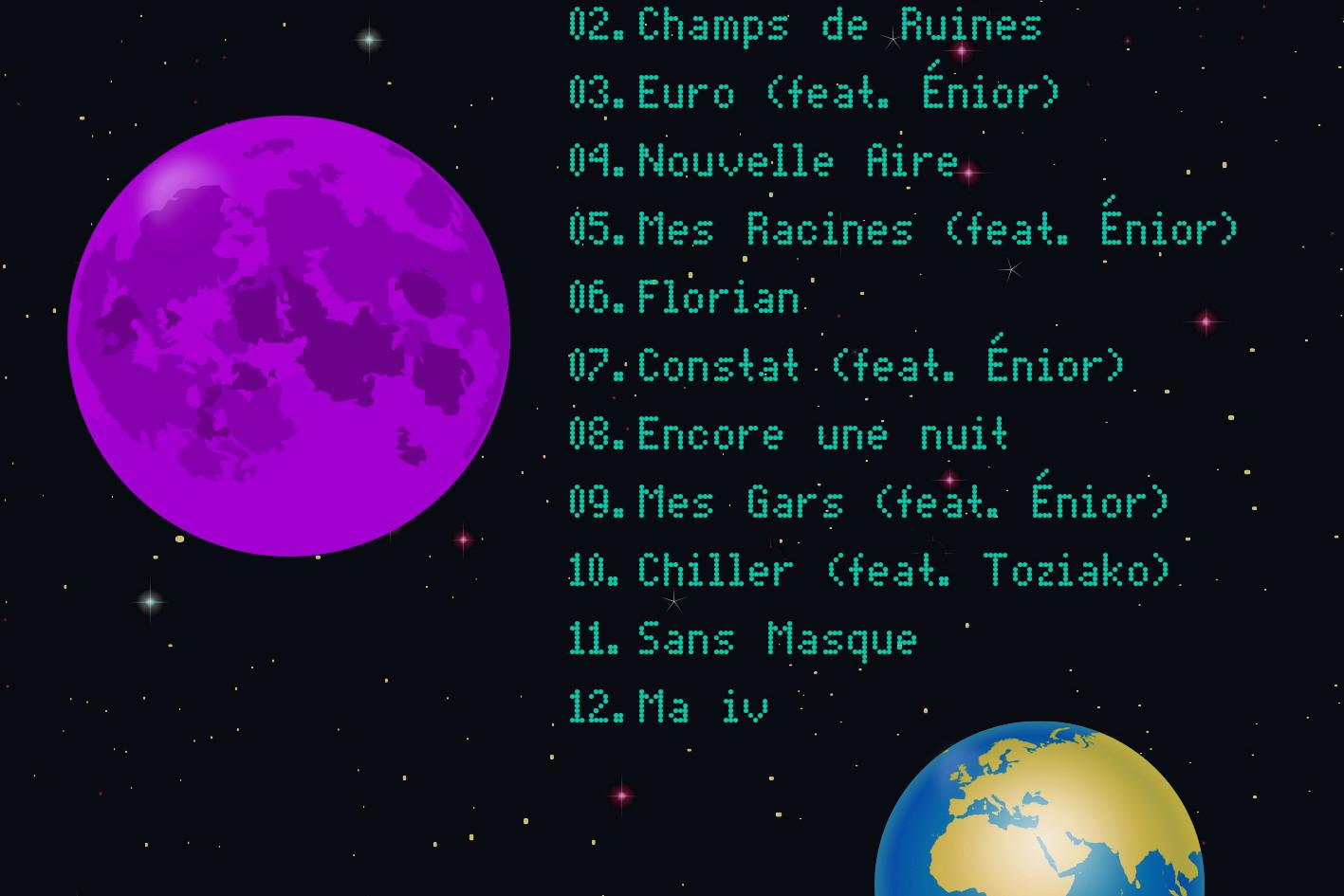 Alien EP tracklist