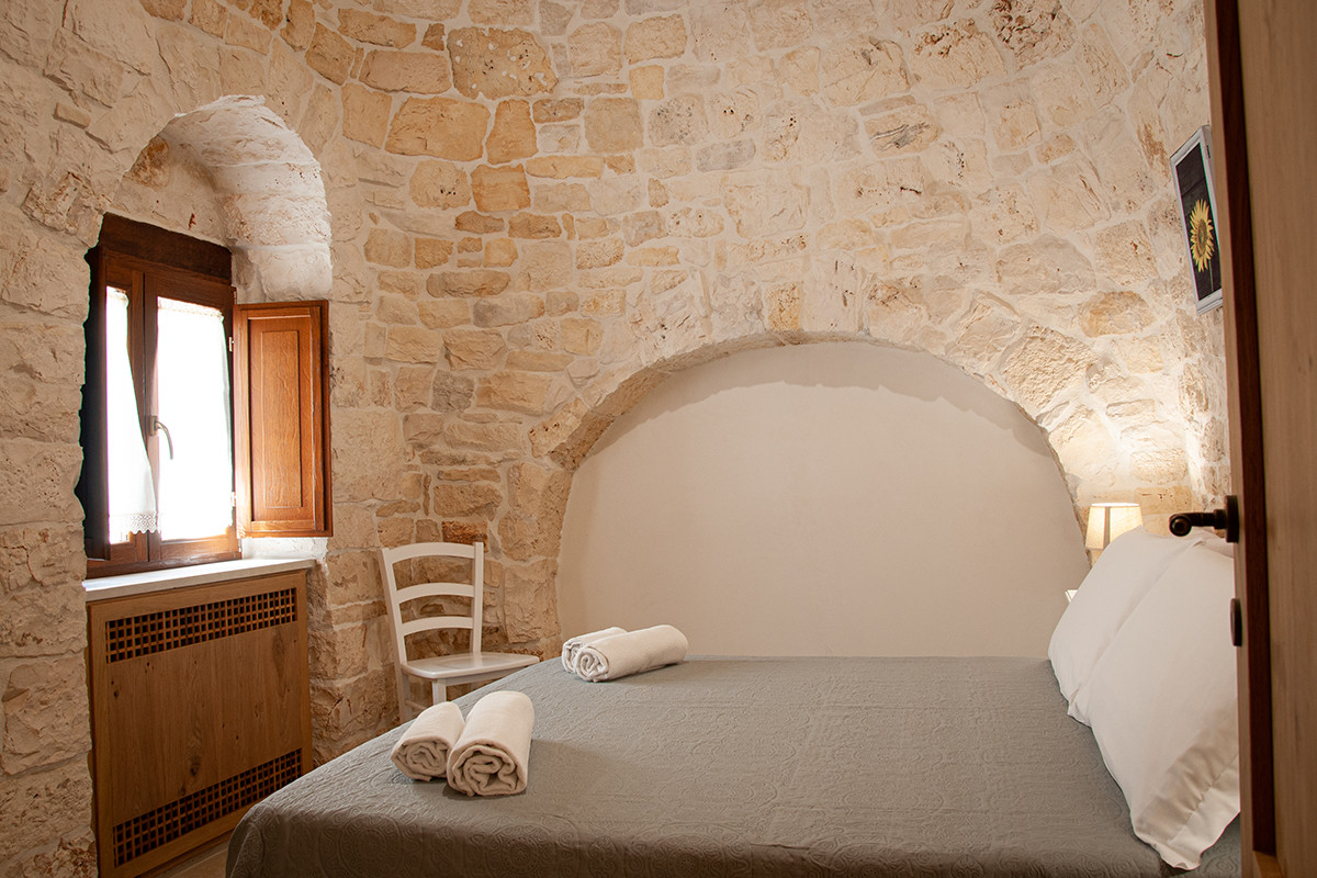 Sleep in authentic trullo