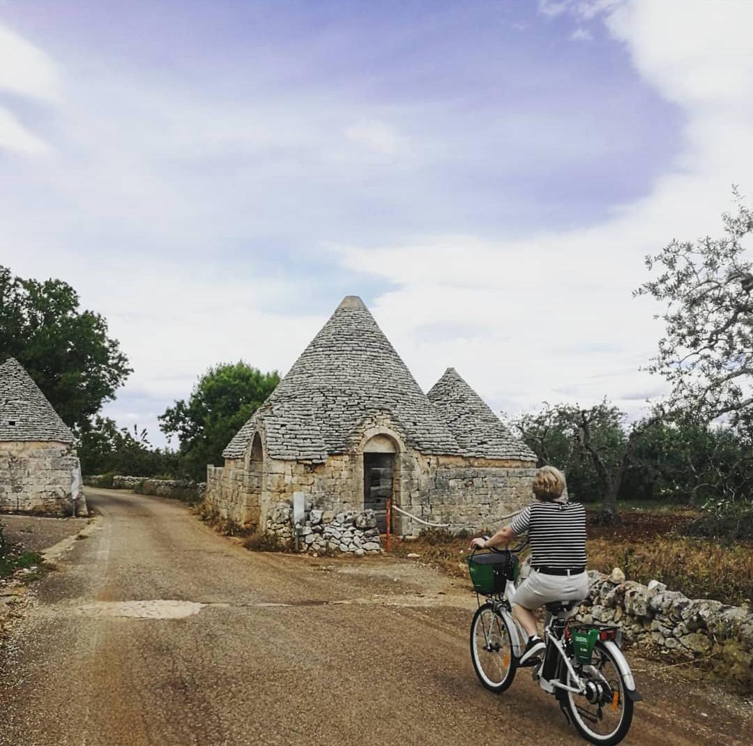 Bike tour Itria Valley