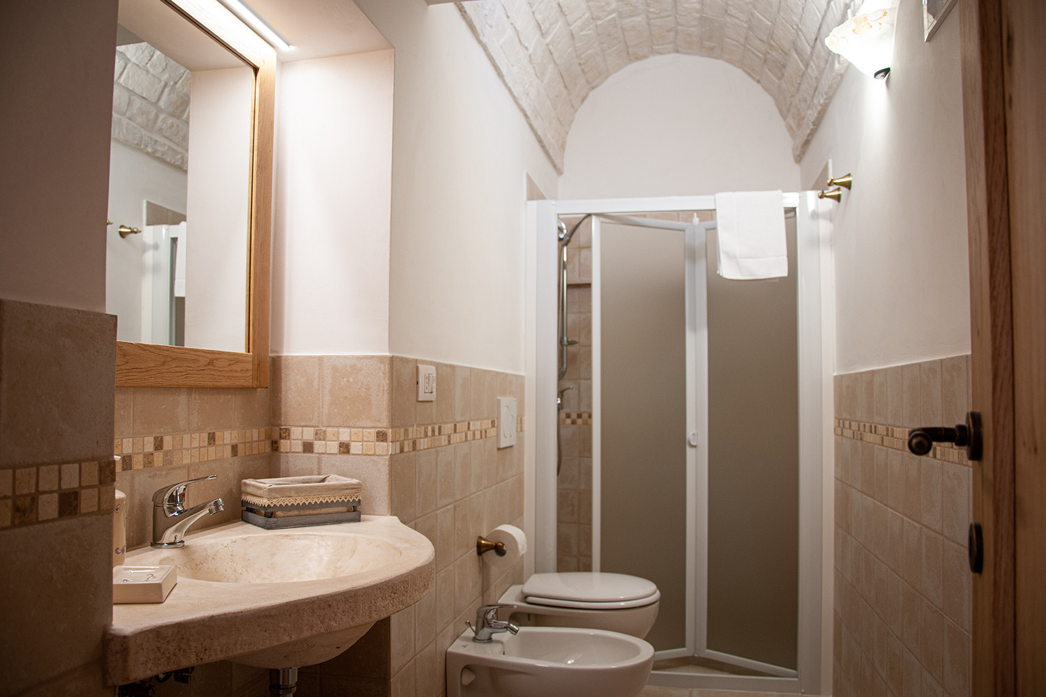 Private bathroom trullo ho