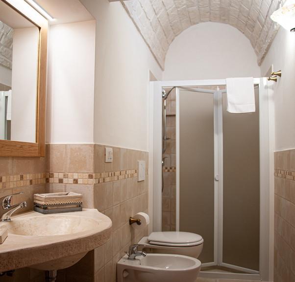 Private bathroom trullo ho