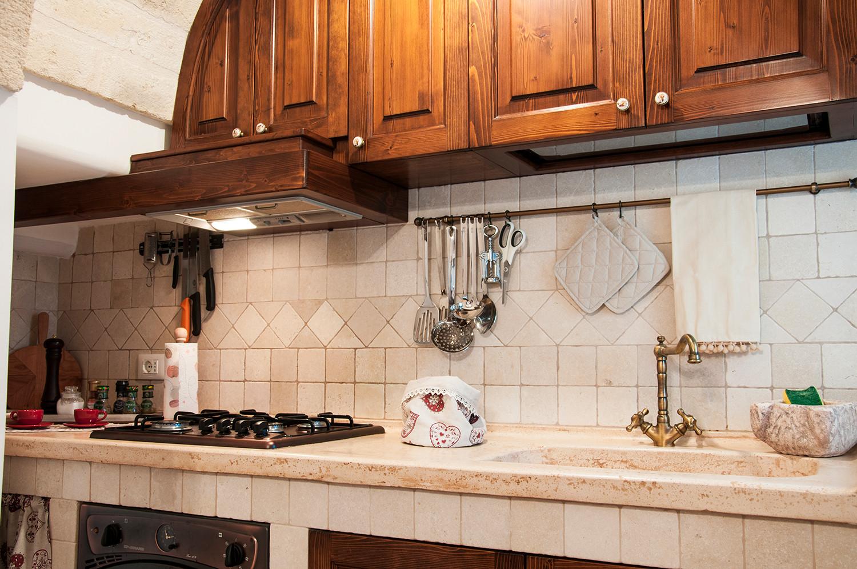 Trulli casa vacanza con cucina