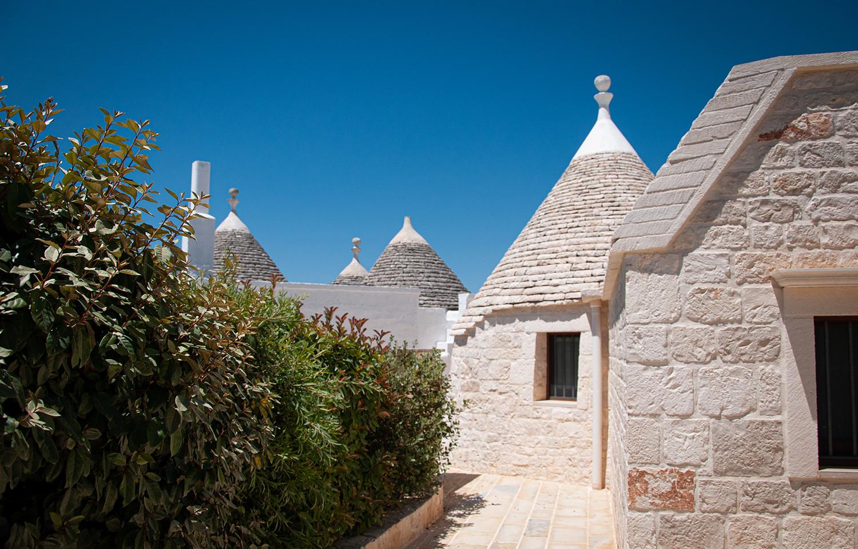Trulli Loco vicoli del borgo antico