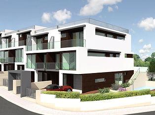 2010 Moradias em Banda Qtª da Farrapa - arqui3 - gabinete de Arquitetura - São Sebastião da Pedreira