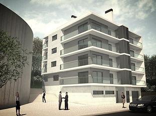 2009 Edifício Multifamiliar Monte de Caparica - arqui3 - gabinete de Arquitetura - São Sebastião da Pedreira