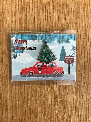 Christmas Tree Pin Badge