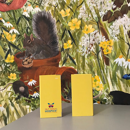 Butterfly Hospice 2021 Diary - Sunshine Yellow