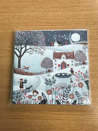 Butterfly Hospice Christmas Cards - In the Bleak Midwinter