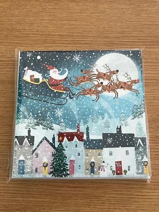 Butterfly Hospice Christmas Cards - Santa's Journey