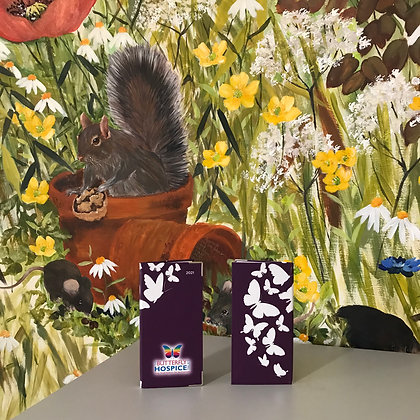 Butterfly Hospice 2021 Plum Diary