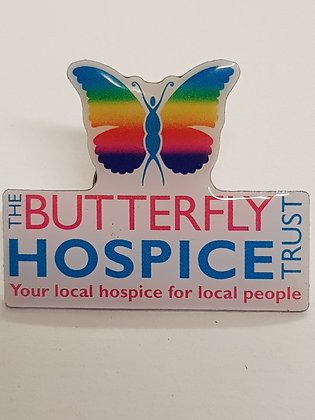 Butterfly Hospice Trust Pin Badge