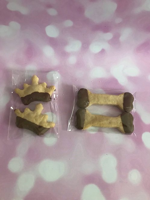 COOKIES 2 PACK WITH CAROB DRIP