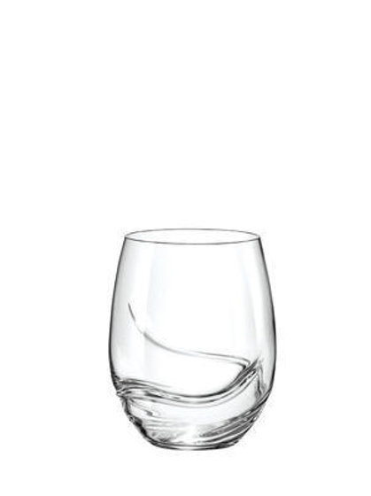 Bohemia Crystal Turbulence Glasses 500ml set of 2