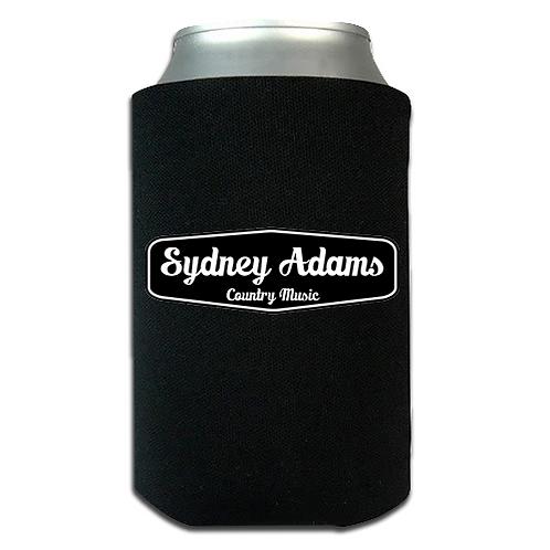 Black Sydney Adams Koozie