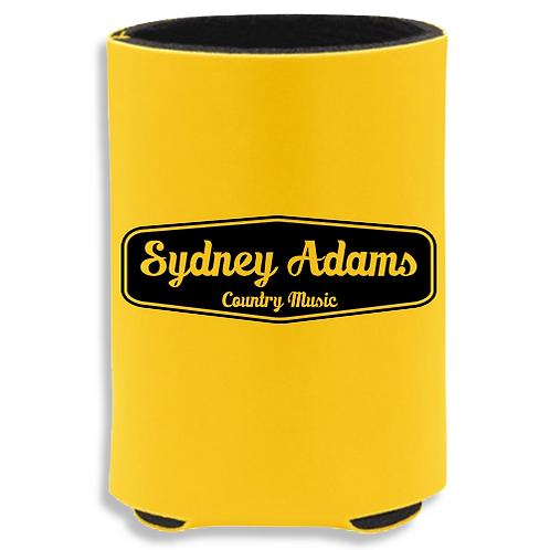 Yellow Sydney Adams Koozie