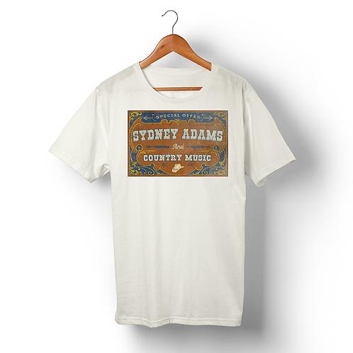 RUSTIC SYDNEY ADAMS COUNTRY MUSIC
