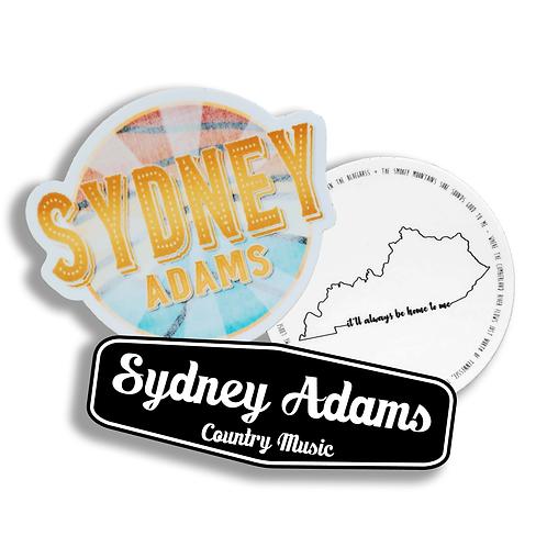 Sydney Adams Stickers