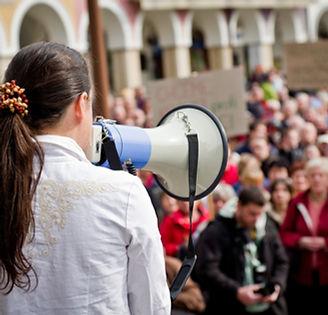 demostración pública