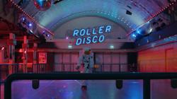 Astronaut in Roller Disco