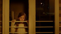 Belinda by the window