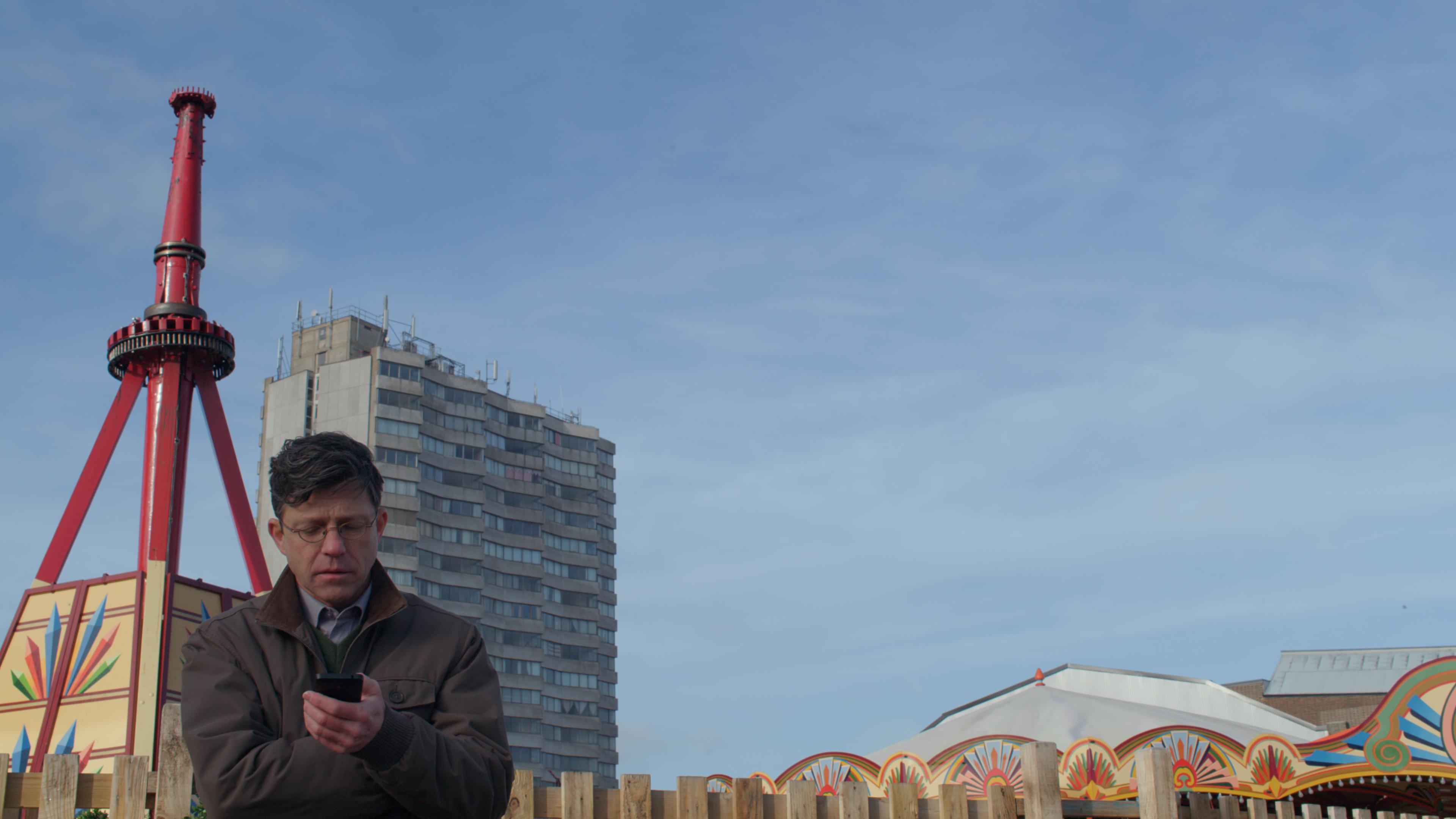 Derek in Amusement Park