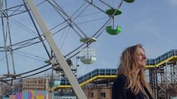 Cindy in Amusement Park