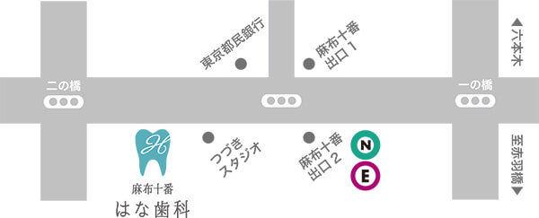東京都港区麻布十番4丁目6−8 3F