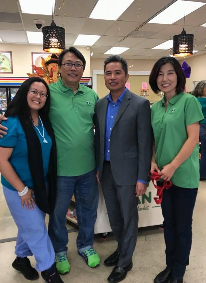 Dr. Catherine Sy Luib, Danny Chen, Audie De Castro, Jennifer Chen