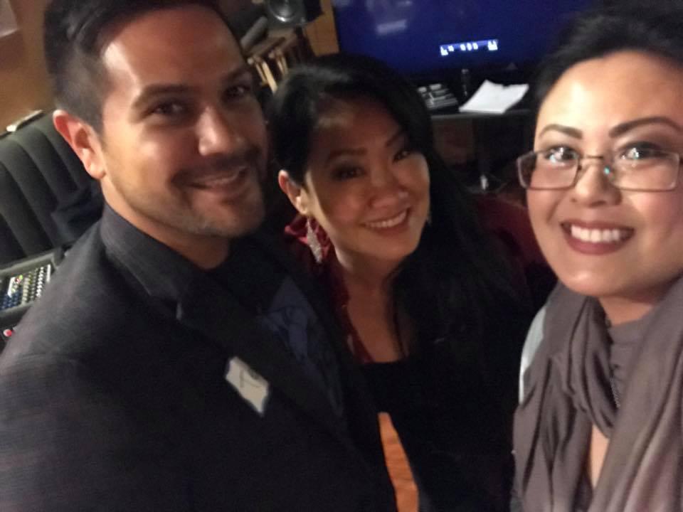 Ted John Mendoza, Cathlyn Choi, Dr. Catherine Sy Luib