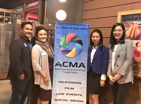 The FilAmChamber of Commerce of San Diego Representing at the ACMA Holiday Mixer
