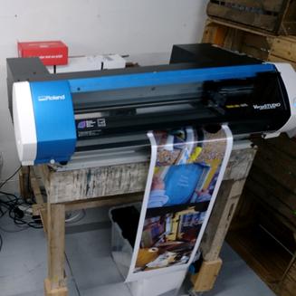 Digitaal printen en snijden