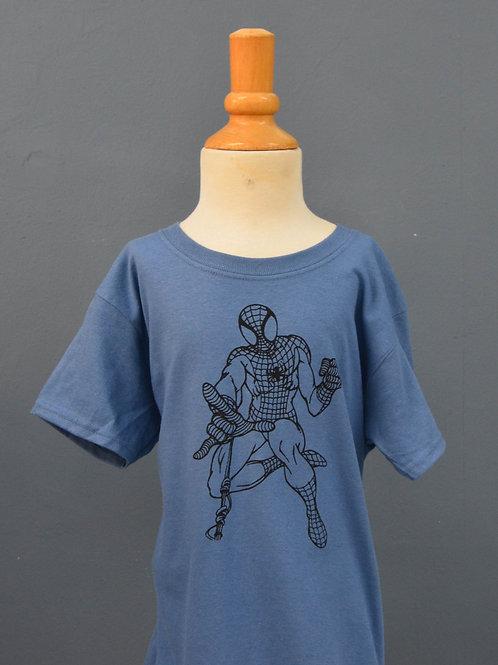 Kindershirt met zwarte opdruk