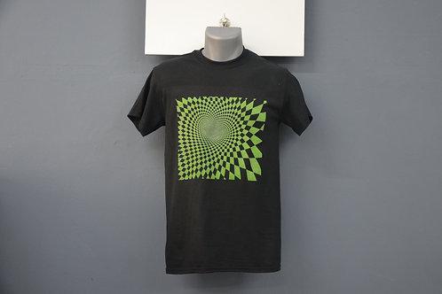 Unisex zwart met shirt groene opdruk